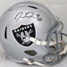 Josh Jacobs Signed Autographed Oakland Raiders FS Speed Helmet BECKETT
