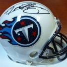 Derrick Henry Signed Autographed Tennessee Titans Mini Helmet STEINER
