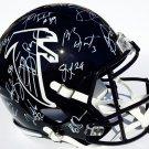 2016 Atlanta Falcons SB 51 Team (Ryan, Quinn, Freeman & Others) Autographed Signed FS Helmet PSA