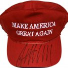 President Donald Trump Autographed Signed MAGA Hat BECKETT