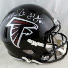 Matt Ryan & Julio Jones Signed Autographed Atlanta Falcons FS Speed Helmet JSA
