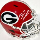 Zamir White Autographed Signed Georgia Bulldogs FS Helmet PSA