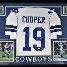 Amari Cooper Autographed Signed Framed Dallas Cowboys Jersey JSA