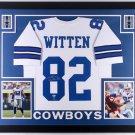 Jason Witten Autographed Signed Framed Dallas Cowboys Jersey BECKETT