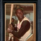 Roberto Clemente Pirates Signed Autographed 1962 Topps Card BECKETT
