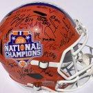 2016 Clemson Tigers Team (Watson, Boulware, Renfrow+) Autographed Signed FS Helmet PSA