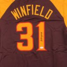 Dave Winfield Signed Autographed San Diego Padres Jersey JSA