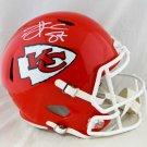 Travis Kelce Signed Autographed Kansas City Chiefs FS Speed Helmet BECKETT