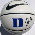 Zion Williamson Signed Autographed Duke Blue Devils Logo Nike Basketball PSA
