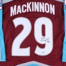 Nathan MacKinnon Autographed Signed Colorado Avalanche Jersey BECKETT