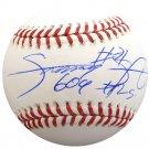 Sammy Sosa Chicago Cubs Autographed Signed Baseball BECKETT
