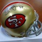 Brent Jones Autographed Signed San Francisco 49ers Mini Helmet HOLO