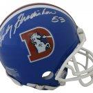 Randy Gradishar Autographed Signed Denver Broncos Mini Helmet JSA