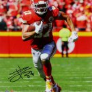 Travis Kelce Signed Autographed Kansas City Chiefs 16x20 Photo BECKETT