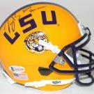 Joe Burrow Autographed Signed LSU Tigers Mini Helmet BECKETT