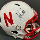 Adrian Martinez Autographed Signed Nebraska Cornhuskers FS Helmet PSA