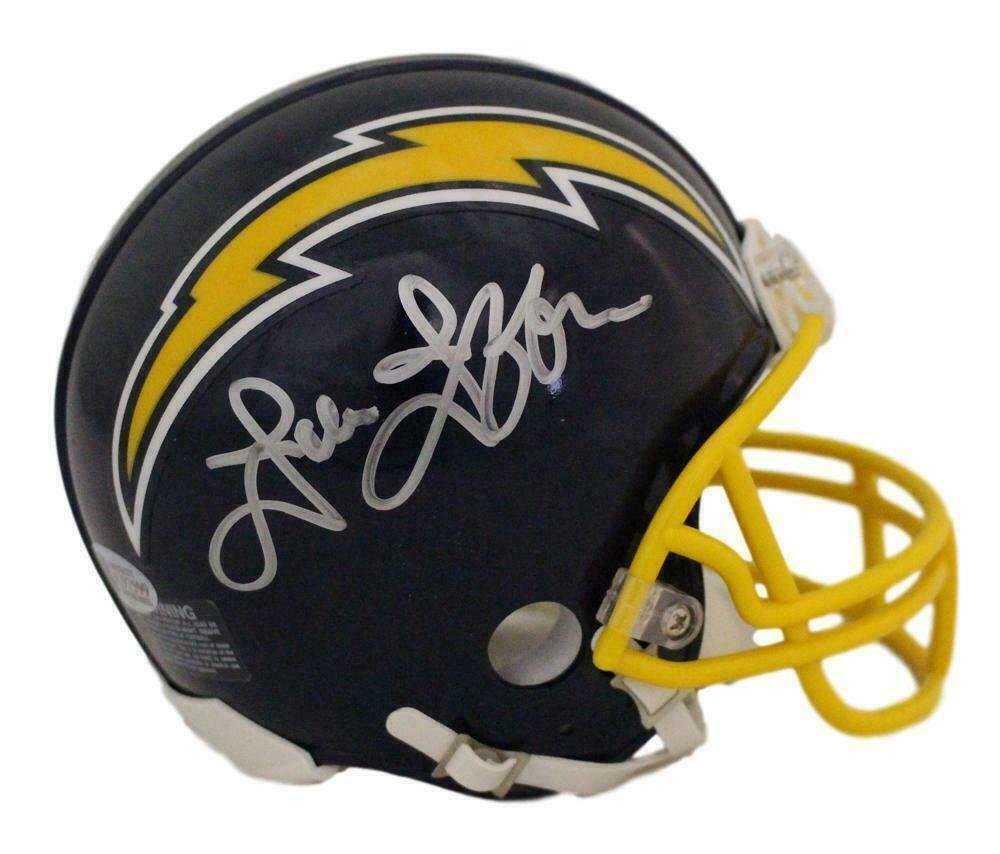 John Jefferson Autographed Signed San Diego Chargers Mini Helmet BECKETT