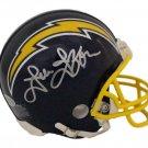 John Jefferson Autographed Signed San Diego Chargers Mini Helmet BECKETT