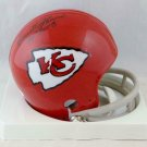 Emmitt Thomas Signed Autographed Kansas City Chiefs TB Mini Helmet JSA