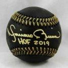 Mariano Rivera Yankees Signed Autographed Black MLB Baseball BECKETT