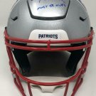 Tom Brady Autographed Signed New England Patriots Proline Speedflex Helmet TRISTAR