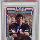 Steve Young 49ers Signed Autographed 1984 Topps USFL Rookie Card PSA