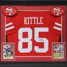 George Kittle Autographed Signed Framed San Francisco 49ers Jersey BECKETT