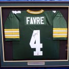 Brett Favre Autographed Signed Green Bay Packers M&N Jersey PSA