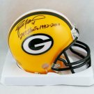 Brett Favre Autographed Signed Green Bay Packers Mini Helmet FAVRE COA