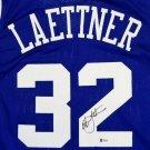 Christian Laettner Autographed Signed Duke Blue Devils Jersey BECKETT