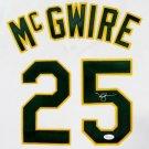 Mark McGwire Autographed Signed Oakland A's Jersey JSA