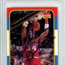 Charles Barkley 76ers Autographed Signed 1986 Fleer Rookie Card PSA
