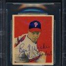 Robin Roberts Phillies Autographed Signed 1949 Bowman Rookie Card BECKETT