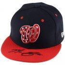 Max Scherzer Autographed Signed Washington Nationals Cap FANATICS