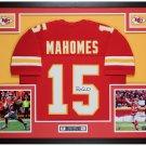 Patrick Mahomes Signed Autographed Kansas Chiefs Framed Nike Jersey FANATICS