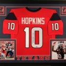 DeAndre Hopkins Autographed Signed Framed Houston Texans Jersey TRISTAR