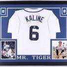 Al Kaline Autographed Signed Framed Detroit Tigers Jersey JSA