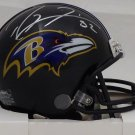 Ray Lewis Autographed Signed Baltimore Ravens Mini Helmet BECKETT