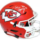 Tony Gonzalez Signed Autographed Kansas City Chiefs Proline Speedflex Helmet BECKETT