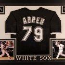 Jose Abreu Autographed Signed Framed Chicago White Sox Jersey JSA