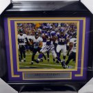 Adrian Peterson Vikings Autographed Signed Framed 8x10 Photo BECKETT
