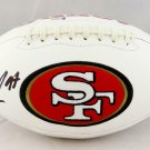 Nick Bosa Autographed Signed San Francisco 49ers Logo Football BECKETT