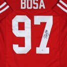Nick Bosa Autographed Signed San Francisco 49ers Jersey BECKETT