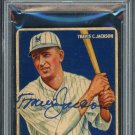 Travis Jackson Giants Autographed Signed 1933 Goudey Rookie Card PSA
