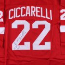 Dino Ciccarelli Autographed Signed Detroit Redwings Jersey JSA