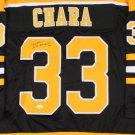 Zdeno Chara Autographed Signed Boston Bruins Jersey JSA