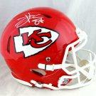 Travis Kelce Signed Autographed Kansas City Chiefs Proline Speed Helmet BECKETT