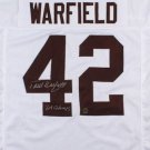 Paul Warfield Autographed Signed Cleveland Browns Jersey PW HOLO