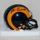 Nolan Cromwell Autographed Signed Los Angeles Rams Mini Helmet JSA