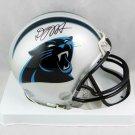 DJ Moore Autographed Signed Carolina Panthers Mini Helmet JSA